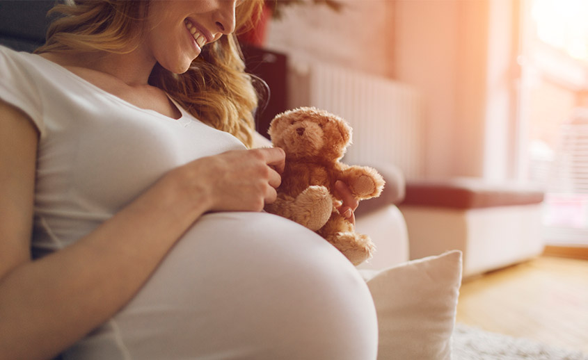 Patucos como resultado del obstetra en Madrid de la Clínica Sergine Medica